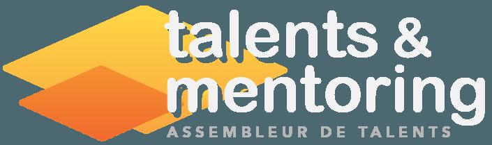 Talents Mentoring Logo Blanc